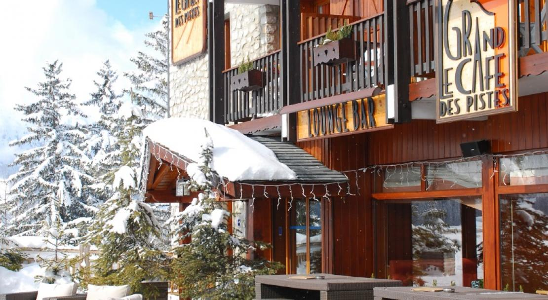 Le Grand Chalet des Pistes Meribel Sun Terrace