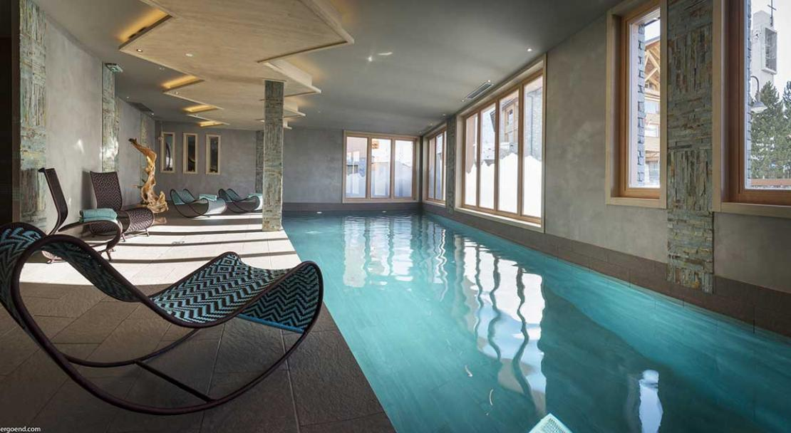 Apartment Le Taos - Swimming Pool; Copyright: Credit Studio Bergoend