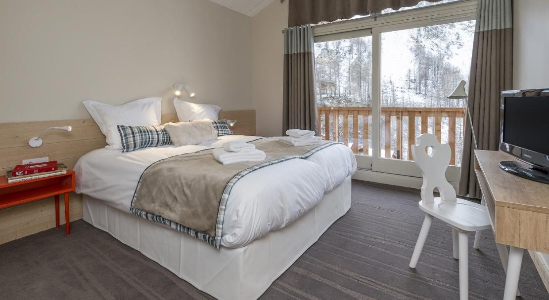 Chalets du Jardin Alpin Val d'Isere Double Room