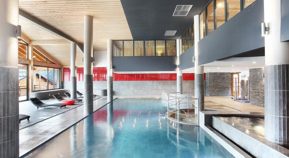 Swimming Pool at Les Fermes de Chatel Odalys; Copyright: Odalys