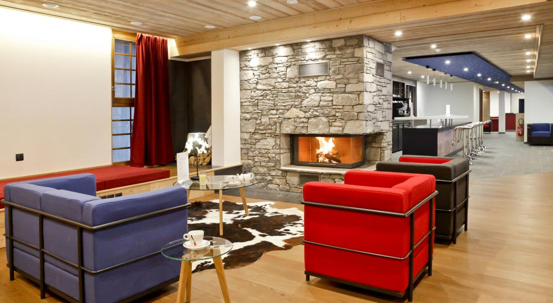 Lounge at Les Fermes de Chatel Odalys; Copyright: Odalys