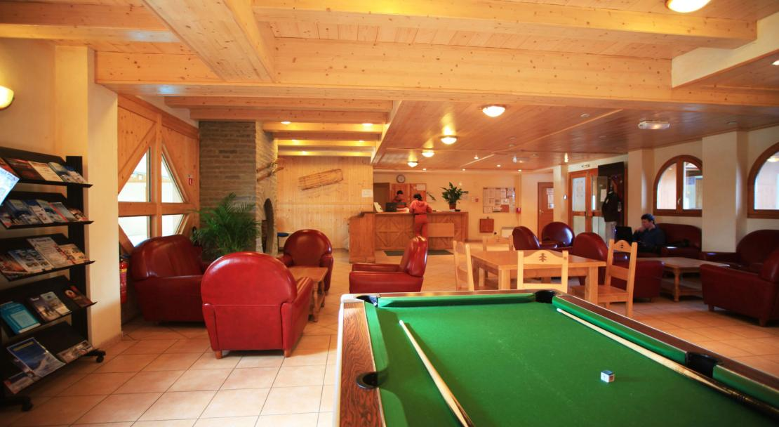 Les Valmonts De Val Cenis Pool table