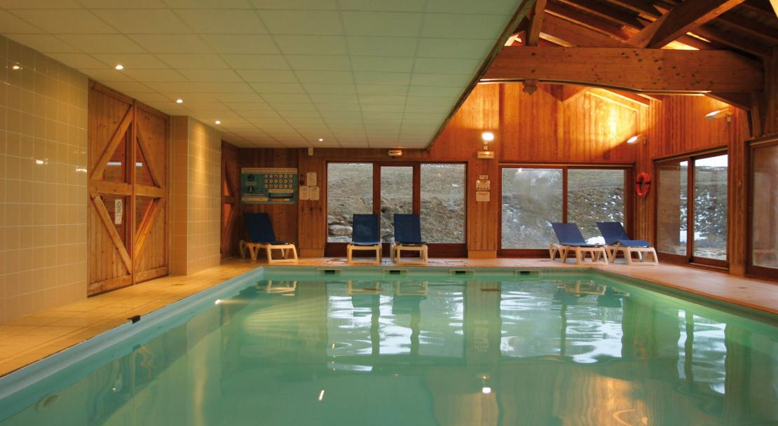 Swimming pool at Les Valmonts De Val Cenis
