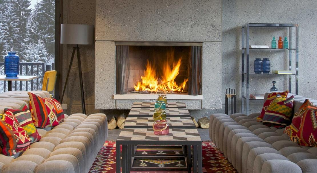 Cosy Fire - Hotel Terminal Neige Totem
