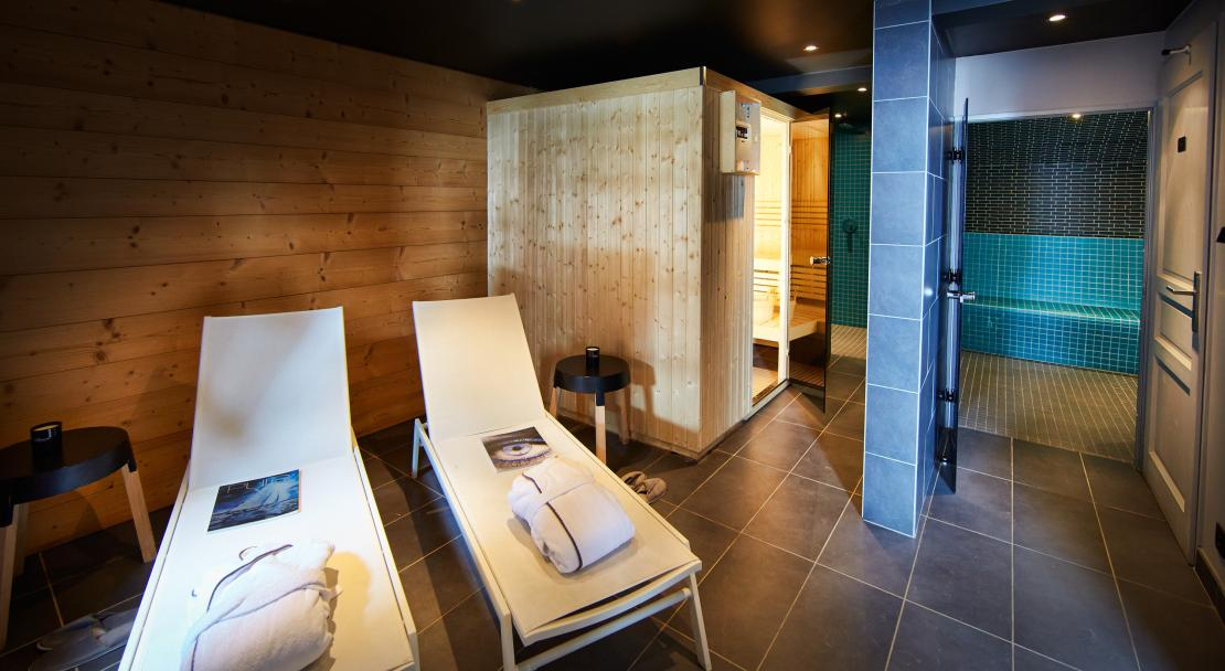 Spa at Chalets de Rosael; Copyright: Temmos