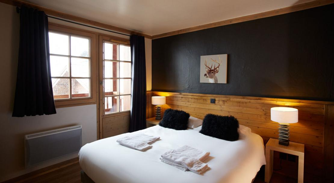 Double bedroom Chalet de Rosael Val Thorens