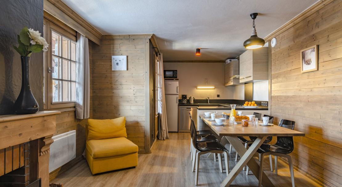 Premium apartment eight people Les Chalets de Rosael Val Thorens