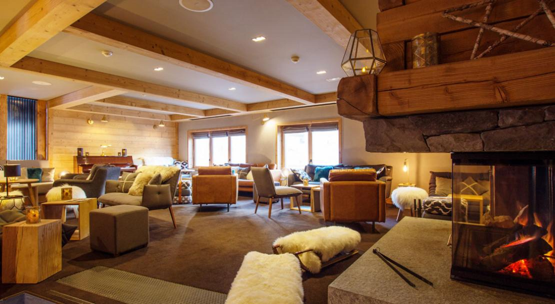 Lounge Hotel L'Avancher Val d'Isere