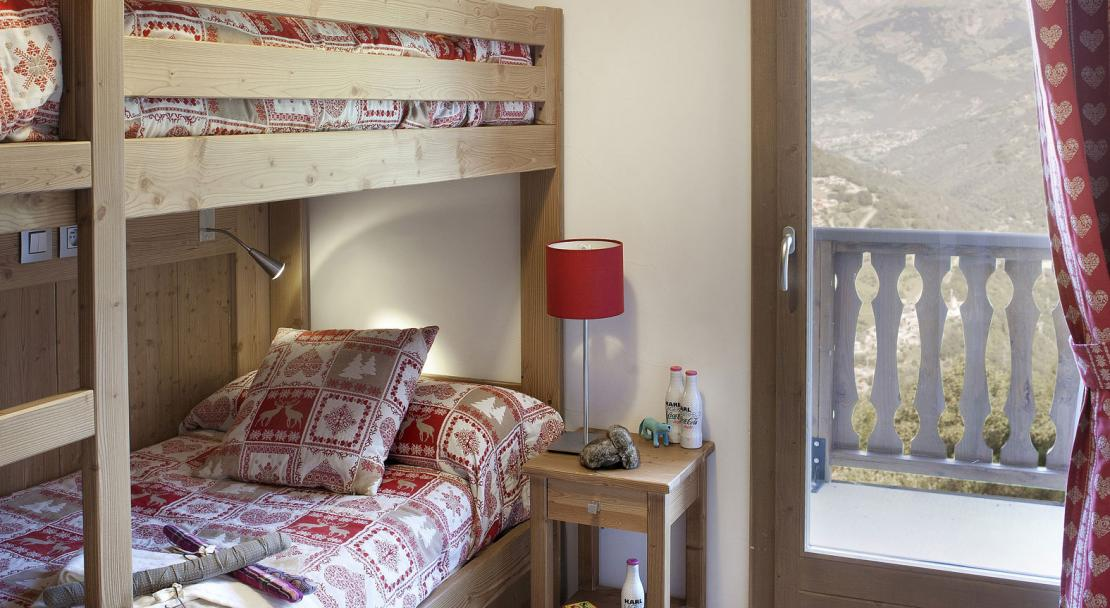 Bunk Beds in Residence Le Ruitor Sainte Foy