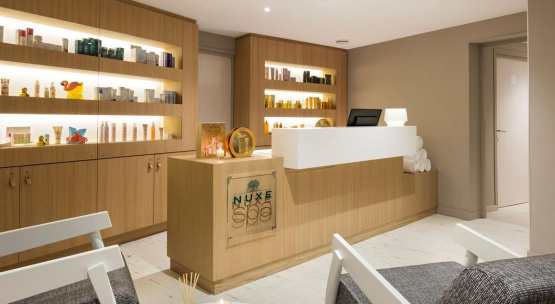 Nuxe spa experience treatments Hotel Araucaria, La Plagne