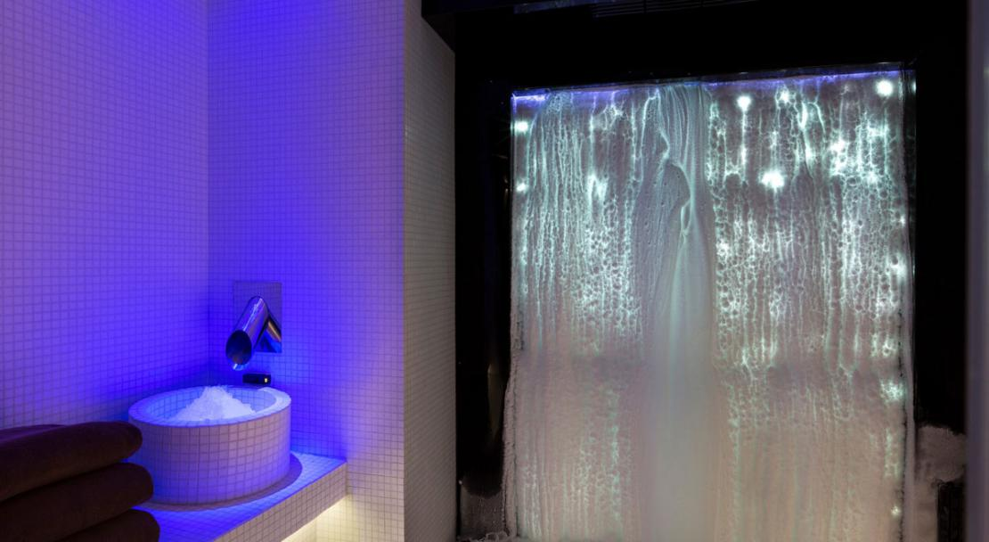 Ice room grotto spa wellness Hotel Araucaria La Plagne