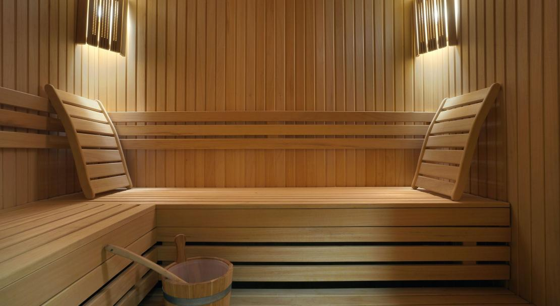 Sauna at Hotel le Tremplin Meribel; Copyright: Hotel le Tremplin Meribel