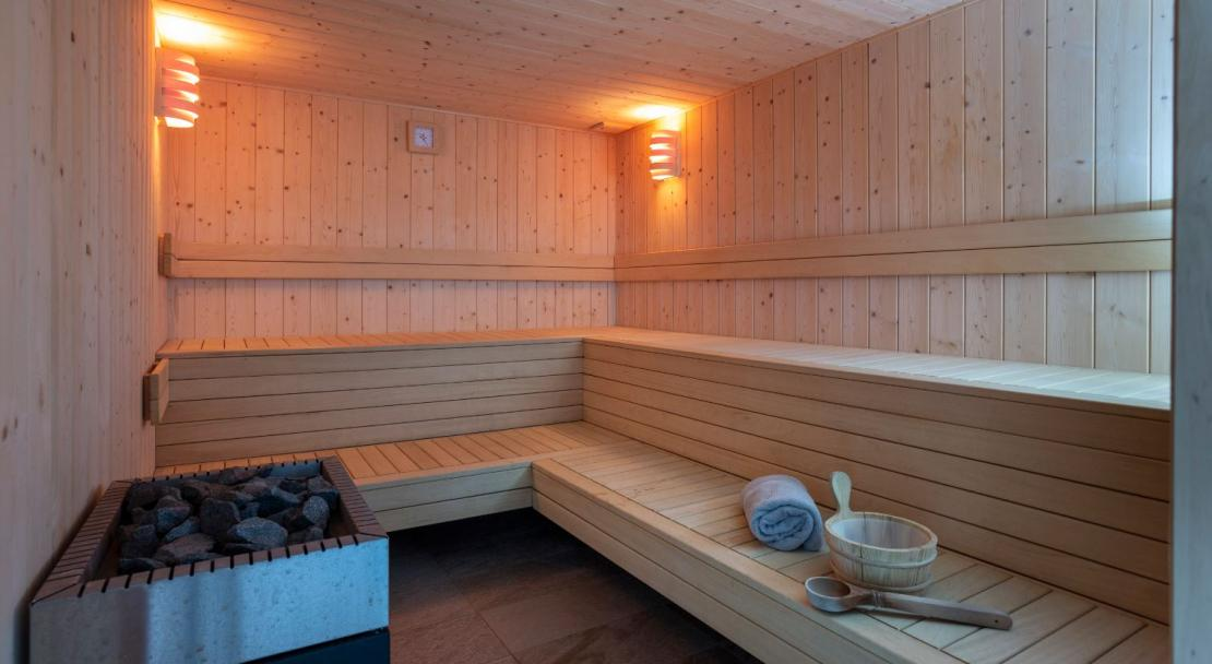 Residence Daria-I Nor sauna; Copyright: Chalet des Neiges