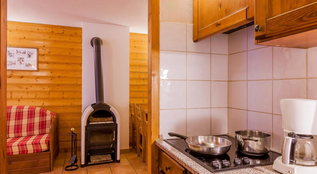 Val Chaviere kitchen; Copyright: Les Balcons