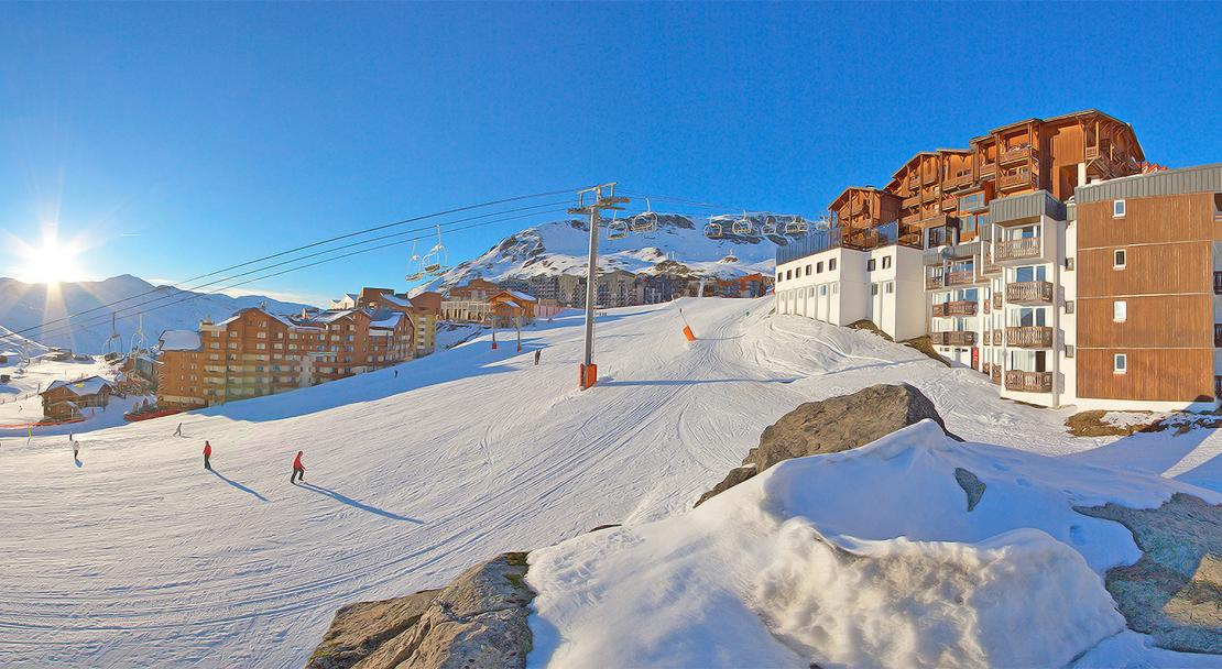 Exterior Val Chaviere Val Thorens; Copyright: Les Balcons
