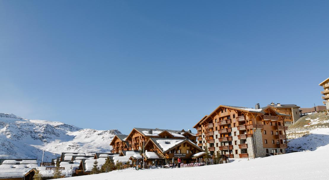 Ski Accommodation and Mountain View-Les Alpages de Reberty-Les Menuires-France