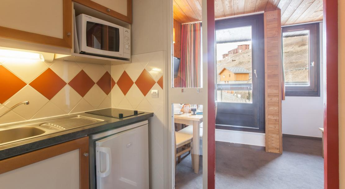 Kitchenette in Les Combes Les Menuires