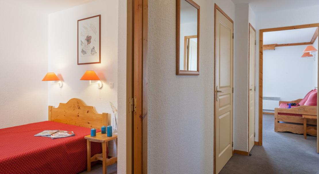 Double Room in Les Valmonts Les Menuires