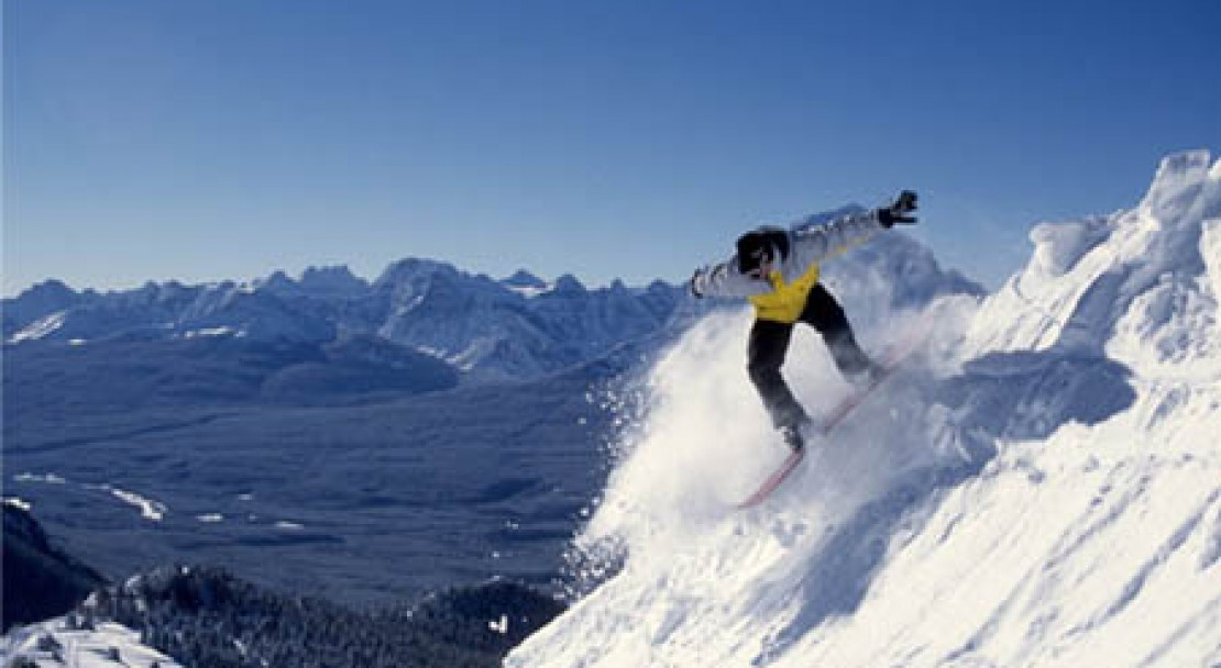 Lake Louise Slopes; Copyright: Lake Louise Ski Area Mates.  Photo courtesy of the Lake Louise Ski Area