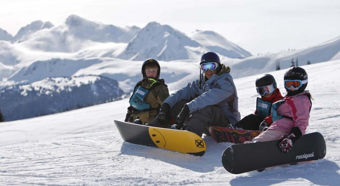 Whistler family ski holiday