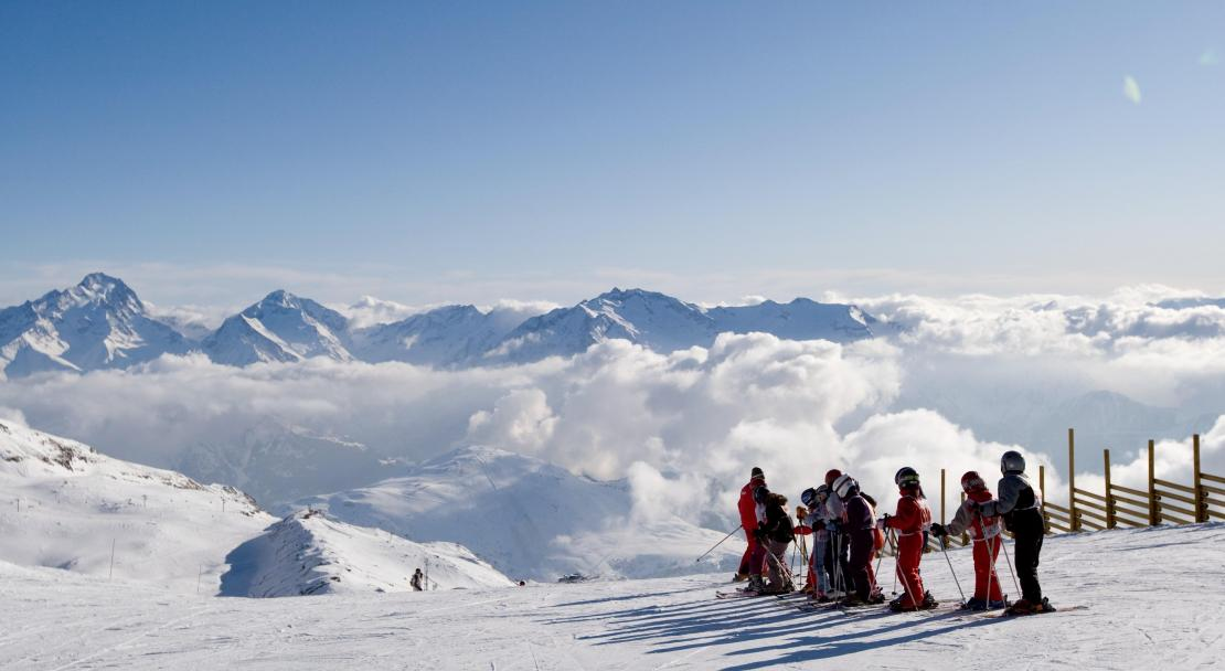 Look at that view of Alpe d'Huez!; Copyright: Alpe d'Huez Tourist Office