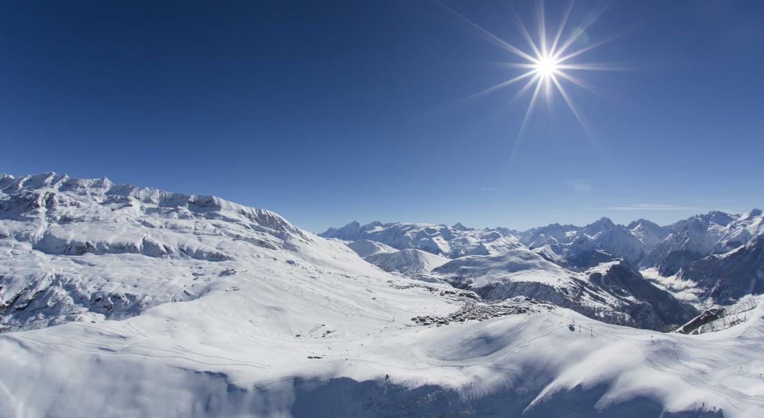 Sunny Slopes around Alpe d'Huez