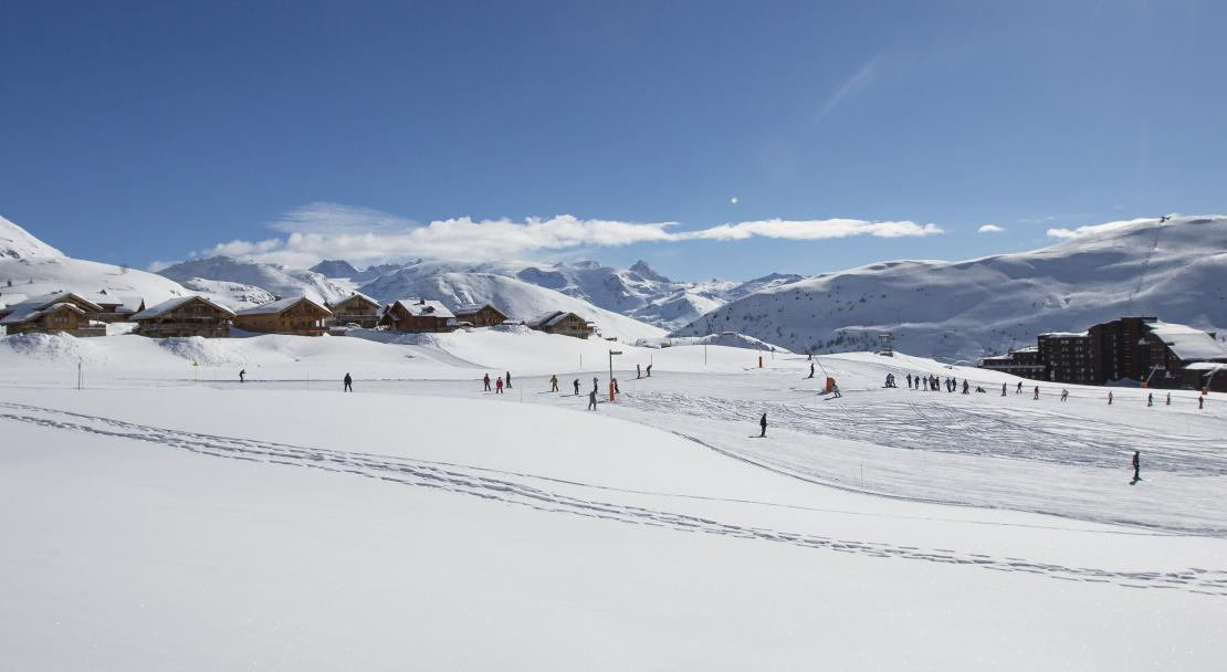 Gentle Slopes in Alpe d'Huez