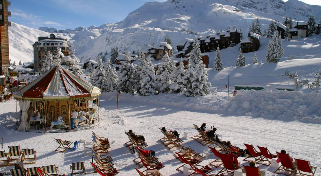 Sun Terrace Avoriaz, France