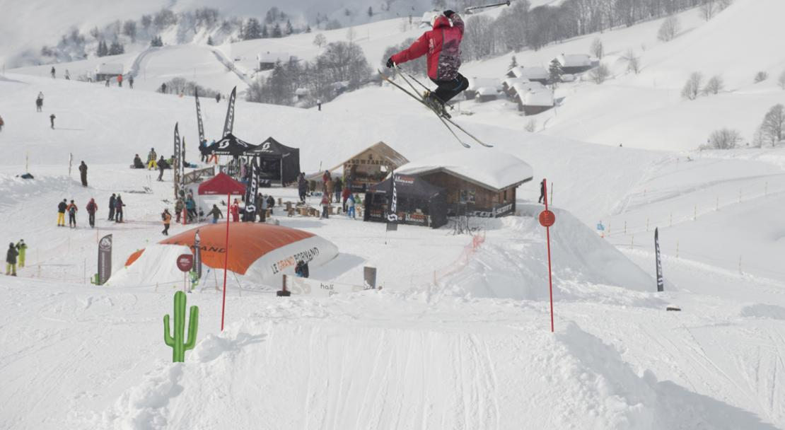 La Grand Bornand, Freestyle Skiing