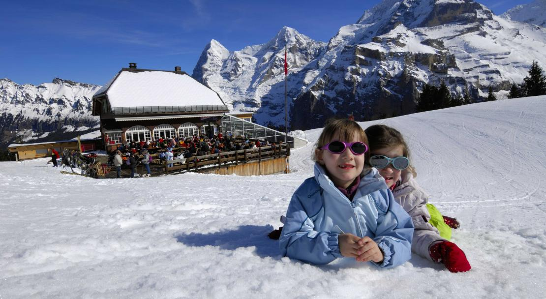 Kids in Mürren