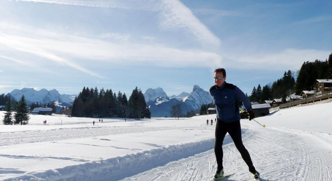 Gstaad cross country