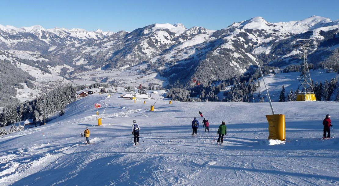 Piste in Gstaad