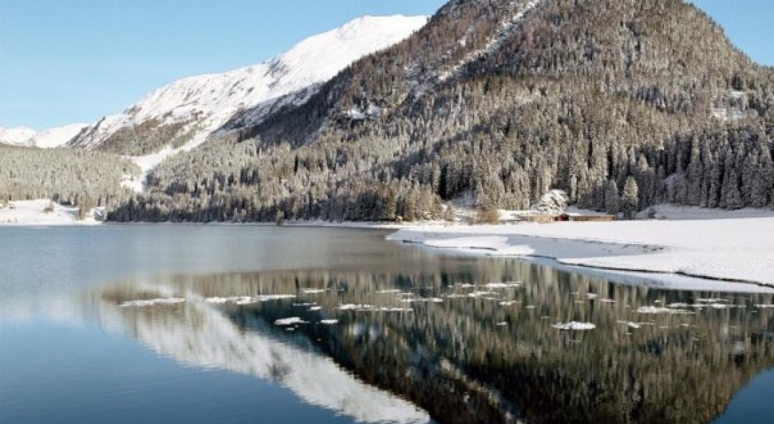 Klosters is surrounded by beautiful scenery; Copyright: Klosters Ski Resort