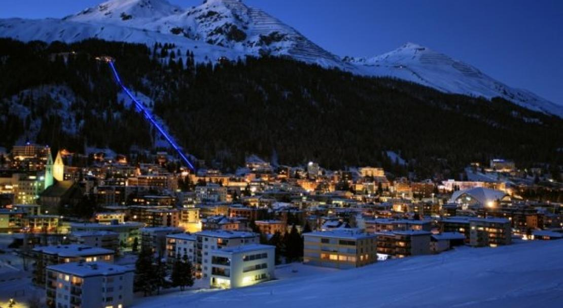 Klosters by night - Switzerland; Copyright: Klosters Tourist Office
