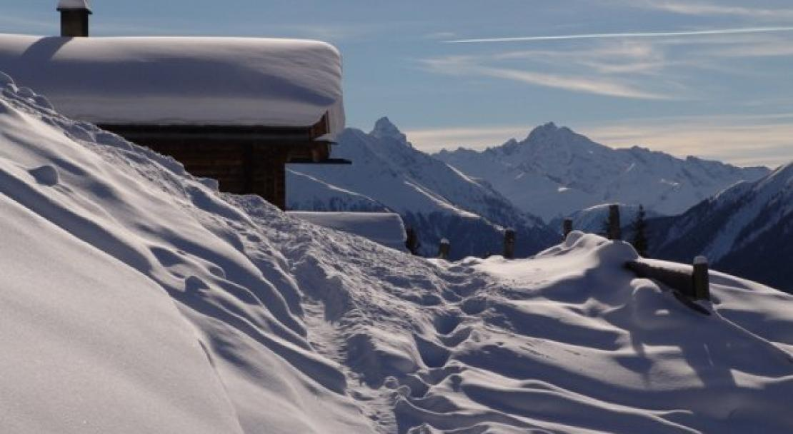 Chocolate box chalets and and plenty of resort charm in Klosters