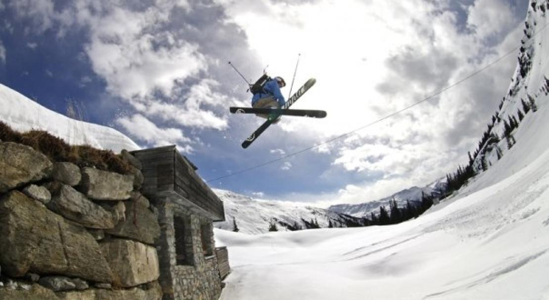 Freestyle in Klosters, Switzerland; Copyright: Klosters Tourist Office