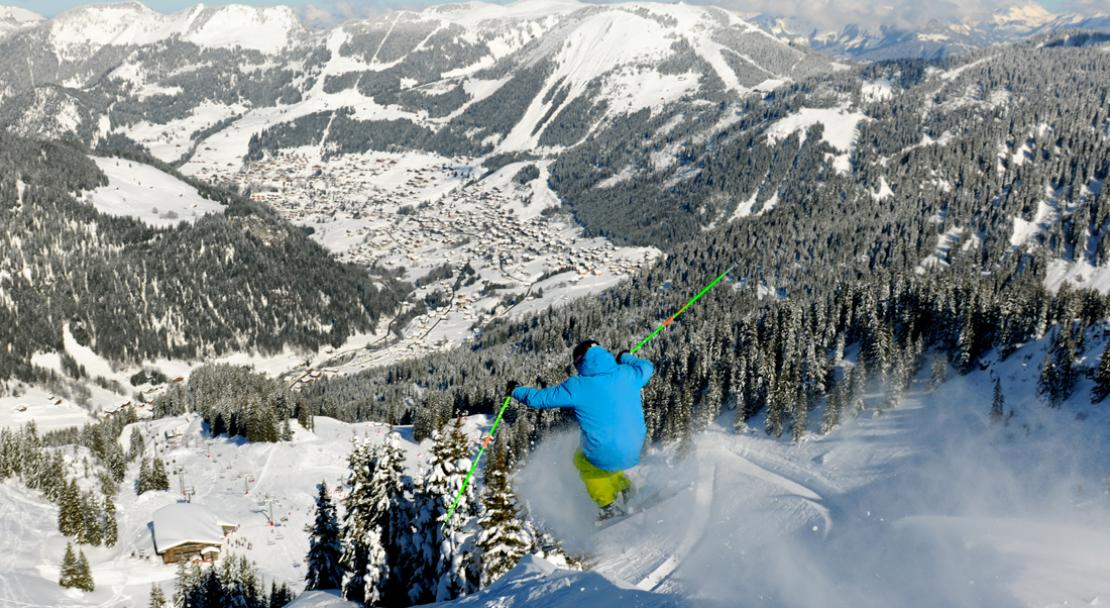 Advanced skiing in Chatel; Copyright: JF Vuarand