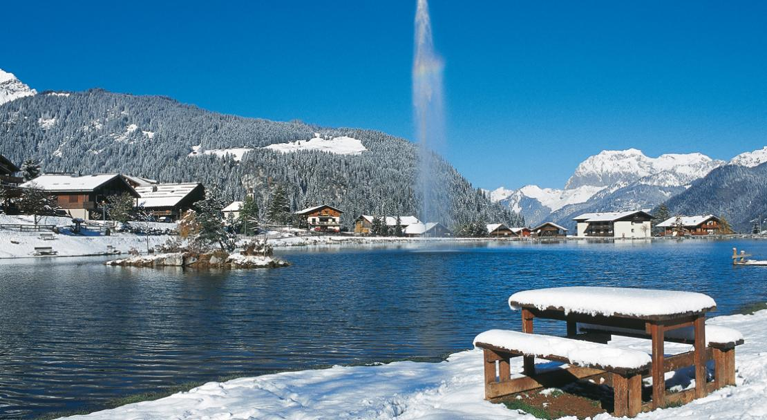 Stunning Lake Vonne in Chatel; Copyright: JF Vuarand