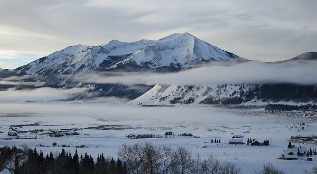 Low cloud in Crested Butte