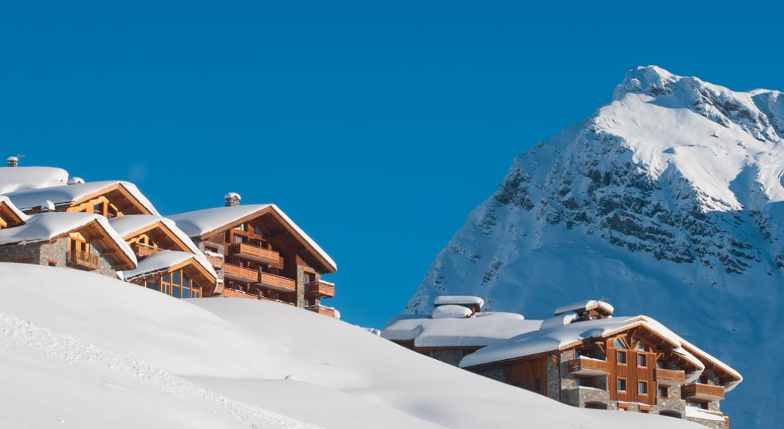 Accommodation in La Rosiere©Propaganda ; Copyright: Images & Reve