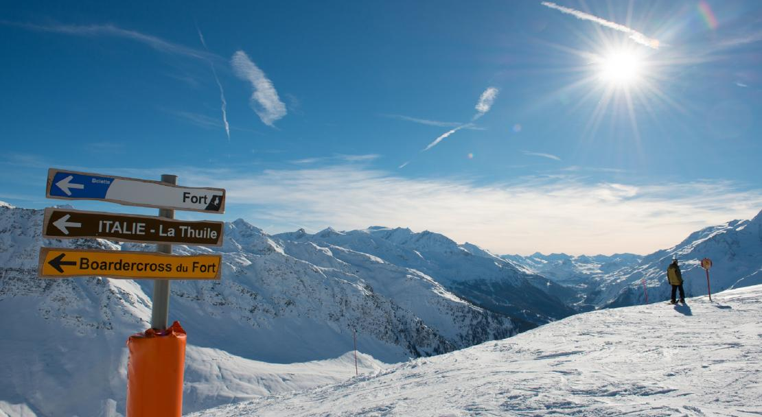 Ski to Italy in La Rosiere©Images&Reves