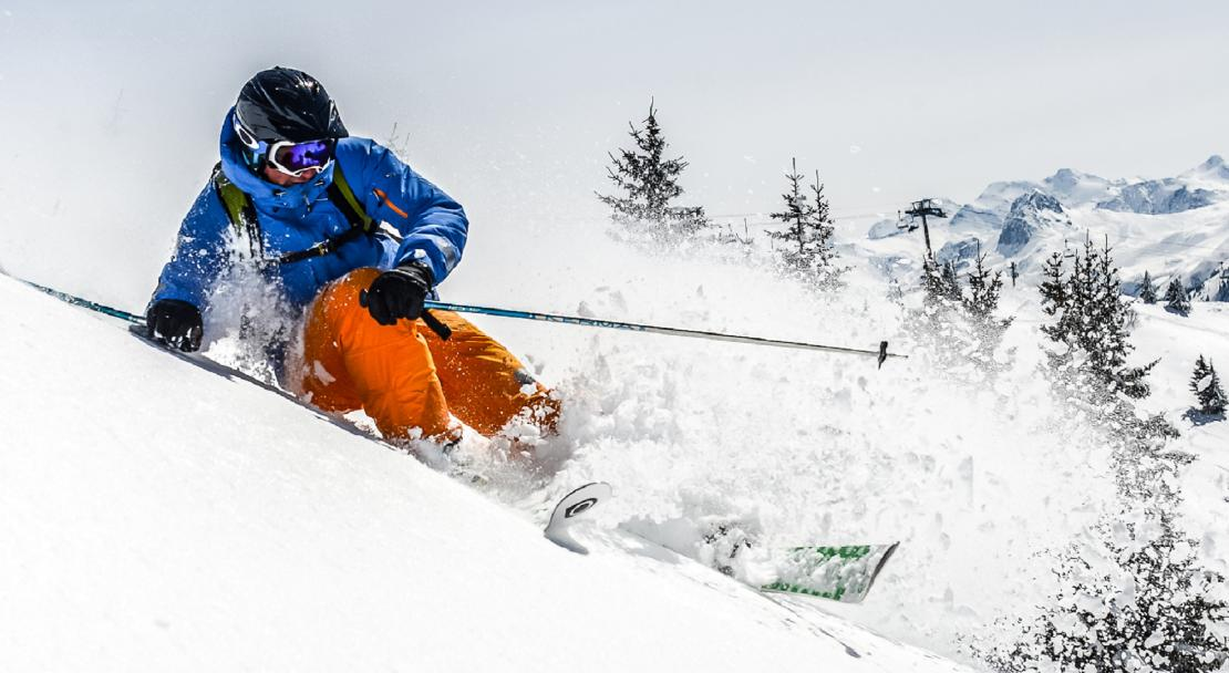 Powdery slopes in La Rosiere©Propaganda