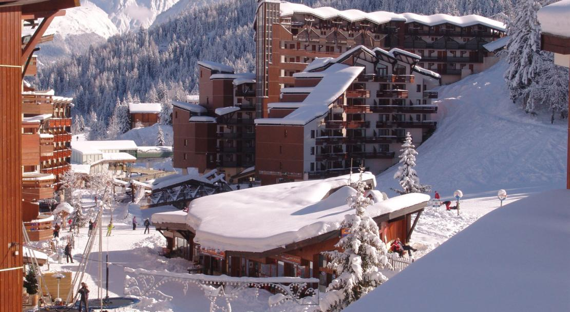 La Tania Village in the Winter