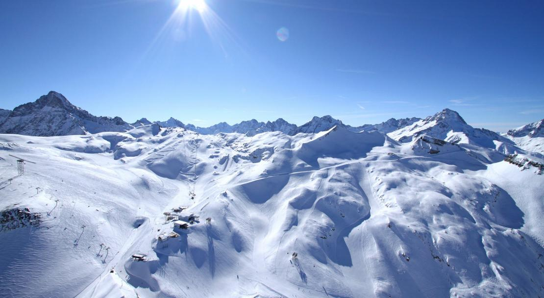 Ski Area, Les 2 Alpes, France
