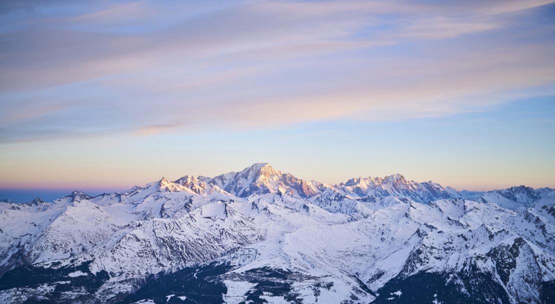 Les Arcs by air; Copyright: Merci creative