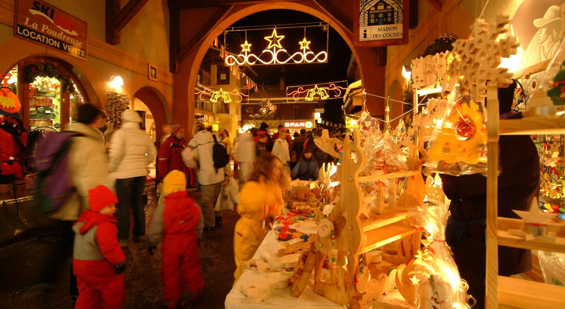 Christmas in Les Coches-Montchavin; Copyright: Philippe GAL/OTMLC