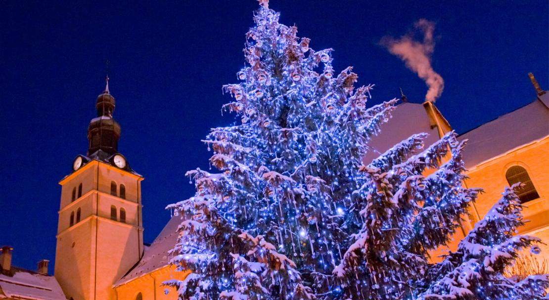 Christmas in Megeve; Copyright: Megeve Tourisme