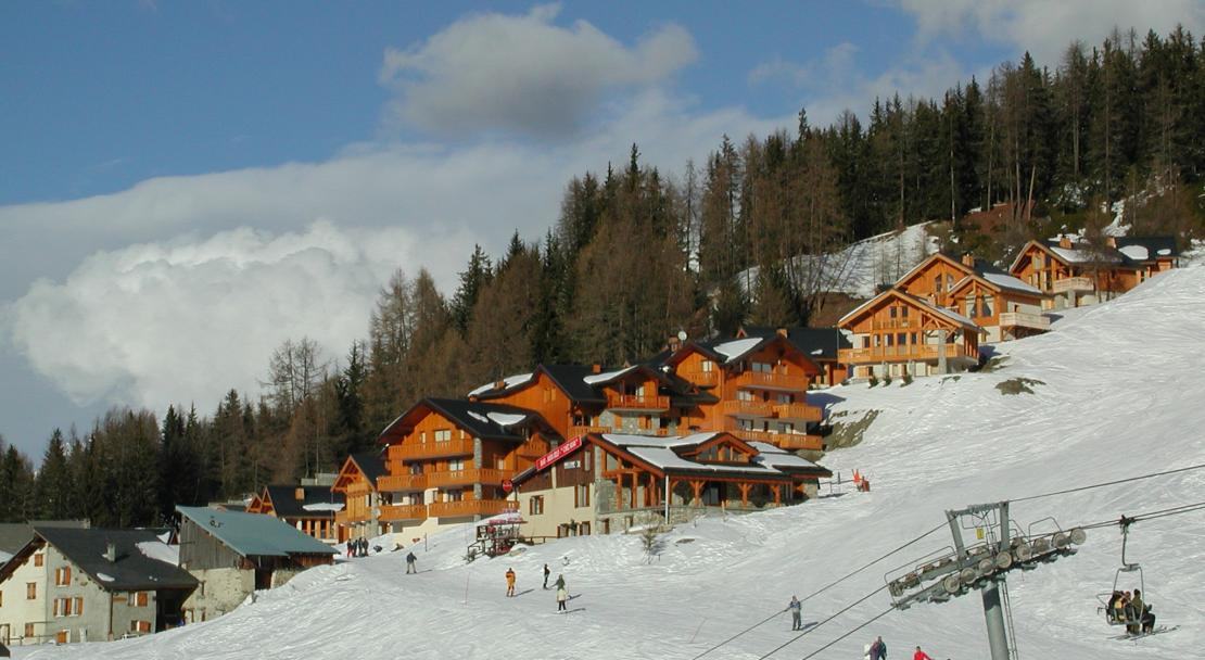 The town of Peisey - Vallandry