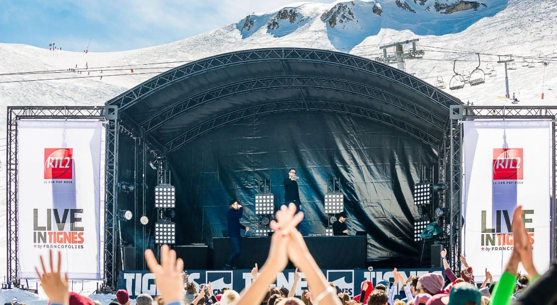 Live in Tignes festival; Copyright: Andy Parant
