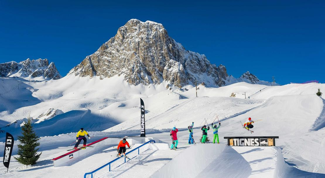 Snowpark in Tignes, France, Andy Parant; Copyright: Andy Parant